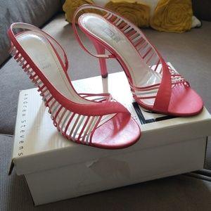 Andrew Stevens Shoes - ANDREW STEVENS NWB HALINE SALMON SLINGBACKS SZ 7.5